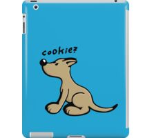 Dog wants a Cookie iPad Case/Skin