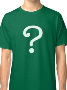 Question Mark - style 3 Classic T-Shirt