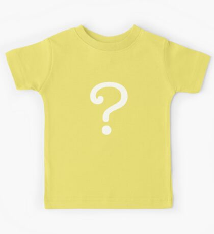 Question Mark - style 3 Kids Clothes