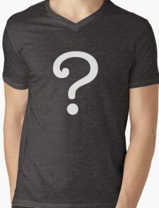 Question Mark - style 3 Mens V-Neck T-Shirt