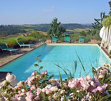 San Gimignano quiet romantic retreat by fortezza
