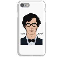 Sherlock-Not Dead iPhone Case/Skin