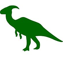 Parasaurolophus Dinosaur Photographic Print