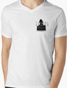 TUNNEL SNAKES RULE Mens V-Neck T-Shirt