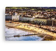 Llandudno North Shore Beach Canvas Print