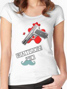 Watson MD Women's Fitted Scoop T-Shirt