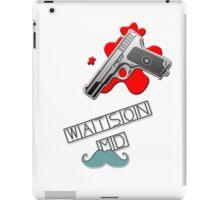 Watson MD iPad Case/Skin