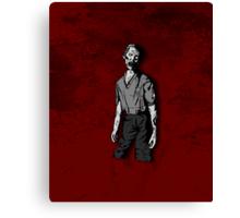 Connor - Zombie Canvas Print