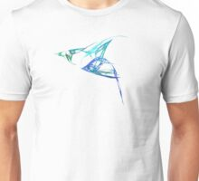 Bluebird in Flight Unisex T-Shirt