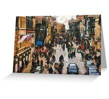 Chester Street Scene Greeting Card