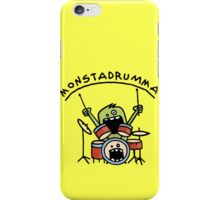 Monster Drummer iPhone Case/Skin