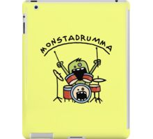 Monster Drummer iPad Case/Skin