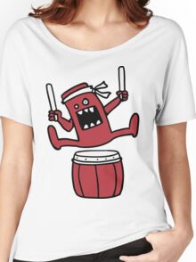 Taiko Monster Women's Relaxed Fit T-Shirt