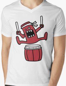 Taiko Monster Mens V-Neck T-Shirt