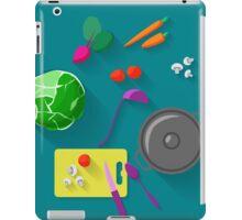 Vegetarian cooking iPad Case/Skin