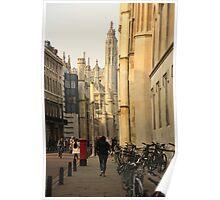 Cambridge Architecture Poster