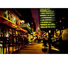 Paris, near Gare du Nord Photographic Print