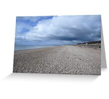 Cloud formation Hythe Kent Greeting Card