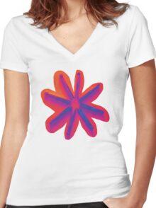 peg.p Women's Fitted V-Neck T-Shirt