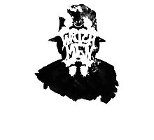 Watchmen - Rorschach Stain Photographic Print