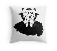 Watchmen - Rorschach Stain Throw Pillow
