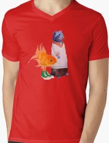 The Amazing World of Gumball in real life Mens V-Neck T-Shirt