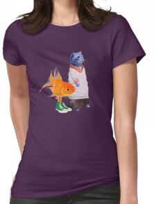 The Amazing World of Gumball in real life Womens Fitted T-Shirt