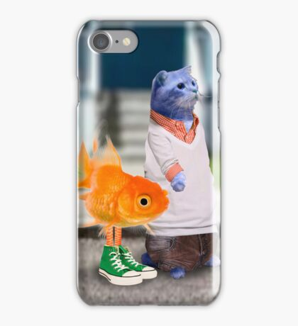 The Amazing World of Gumball in real life iPhone Case/Skin