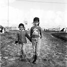 Faces of a Refugee Camp - Kowergosk #4 by Jacob Simkin