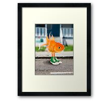Darwin in real life - The Amazing World of Gumball Framed Print