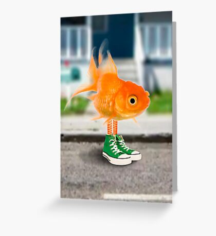 Darwin in real life - The Amazing World of Gumball Greeting Card