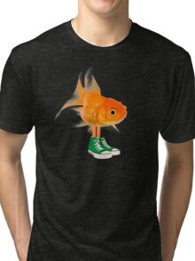 Darwin in real life - The Amazing World of Gumball Tri-blend T-Shirt
