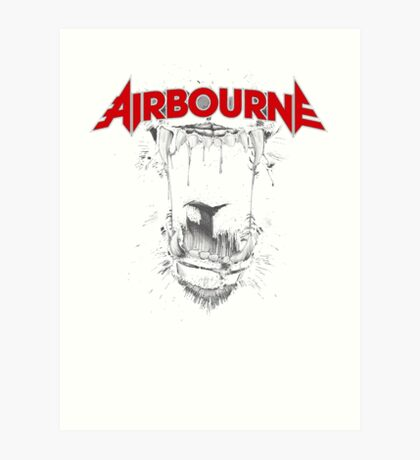 Airbourne - Black Dog Art Print