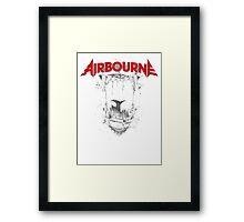 Airbourne - Black Dog Framed Print
