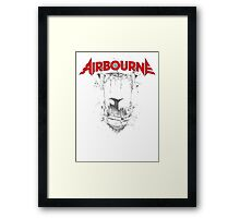Airbourne - Black Dog Framed Print