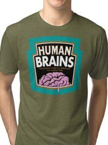 Human Brains Tri-blend T-Shirt