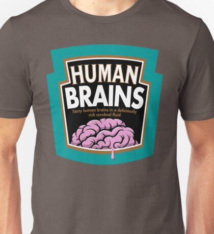 Human Brains Unisex T-Shirt