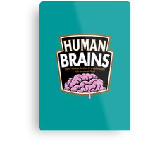 Human Brains Metal Print