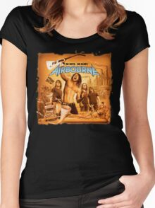 Airbourne - No Guts, No Glory Women's Fitted Scoop T-Shirt