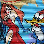 Jessica RABBIT by StreetArtCinema