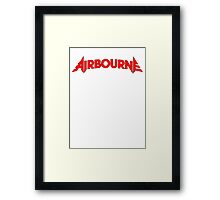 Airbourne (title) Framed Print