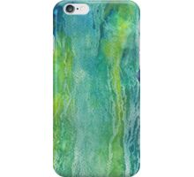 green tears iPhone Case/Skin