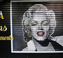 Marilyn MONROE by StreetArtCinema