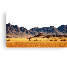 CLASSIC ELEMENTS collection / EARTH / desert mountains Canvas Print