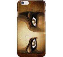 Steampunk Girl Eyes  iPhone Case/Skin