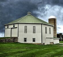 The Restored Old Barn by LarryB007