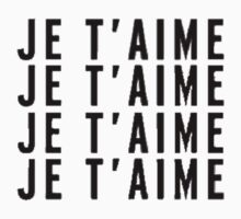 Je T'AIME - i love you by amd1
