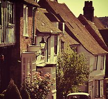 Old English Street, Rye by Scott Anderson