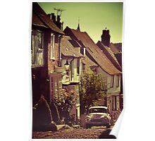 Old English Street, Rye Poster