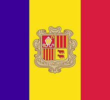 FLAGS OF THE WORLD / A-F / Andorra by yolopro